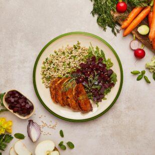 wegańska dieta pudełkowa catering wegański