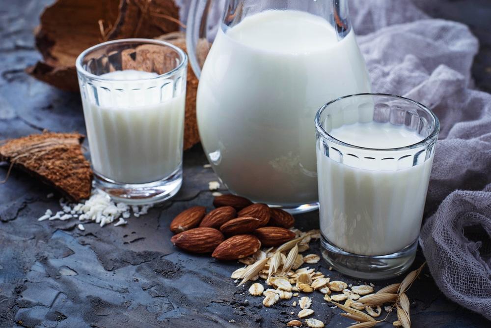 Roślinne zamienniki przydatne w przypadku alergii na mleko