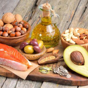 Produkty bogate w tłuszcze nienasycone