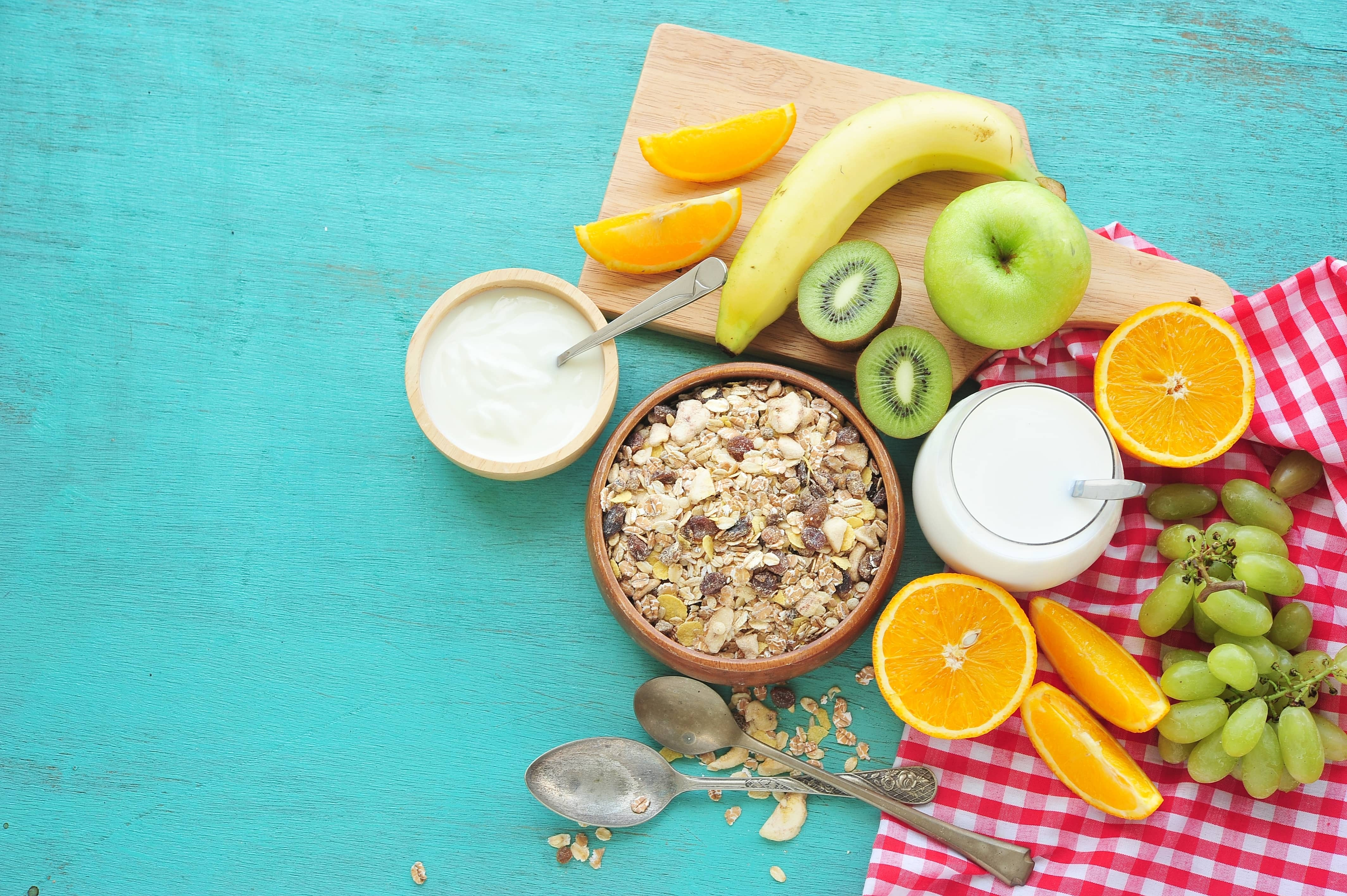 Produkty na diecie dającej energię