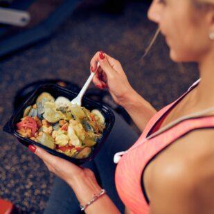 Pudełkowa dieta dla sportowców