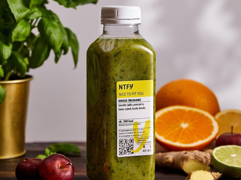 dieta wegetariańska zielona dieta smoothie owoce bazylia grapefruit