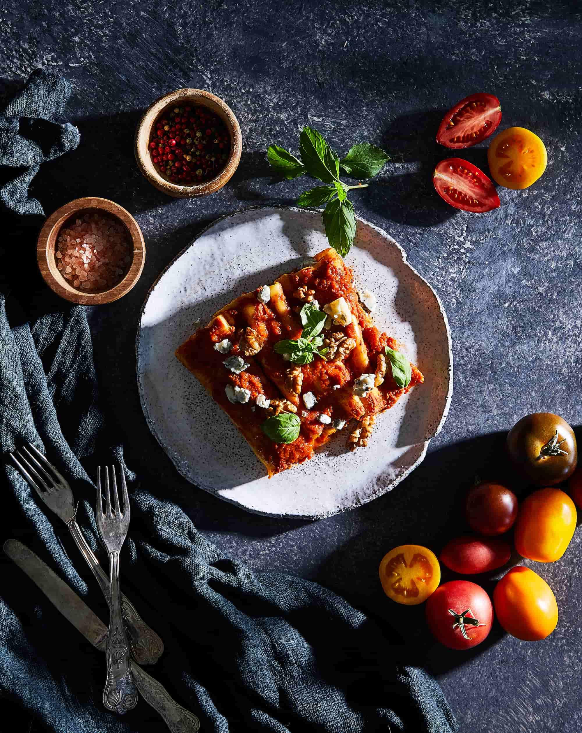 weganska dieta pudełkowa ntfy - pizza vegan