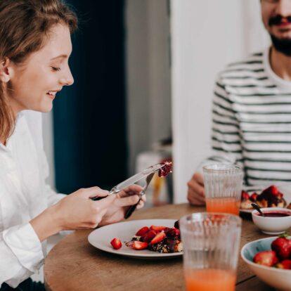 usmiechnieta para je zdrowe posilki dieta 3 posilki dziennie