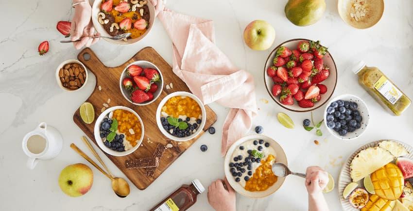 letnie sezonowe składniki diety